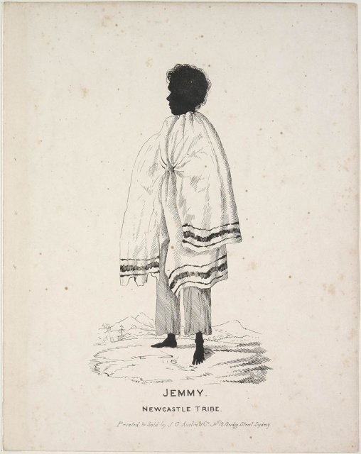 Jemmy, Newcastle Tribe by William Henry Fernyhough c1836  SLNSW