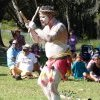 Tribal incarnation at Appin Massacre Memorial