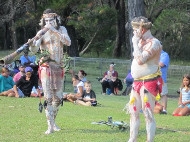 Dancing at Appin Massacre Memorial, 2013