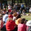 People at Appin Massacre Memorial, 2013