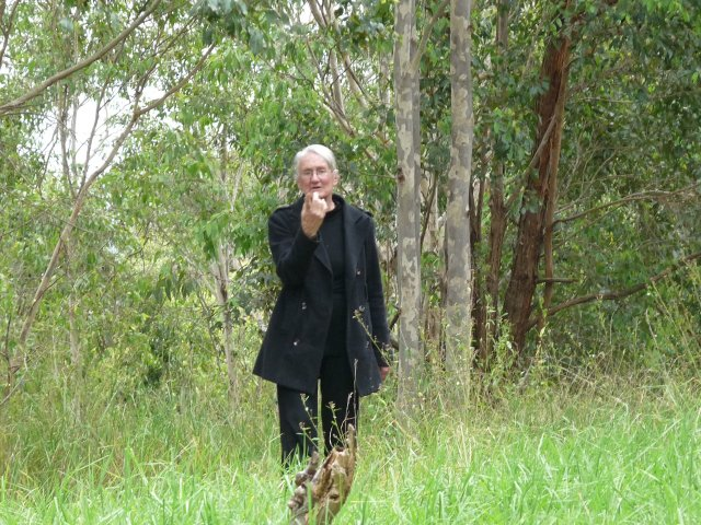 Auntie Fran Bodkin at William Howe Park, Mt Annan