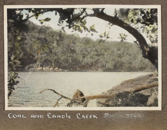 Coal and Candle Creek, Cowan Waters. Courtesy Mitchell Library