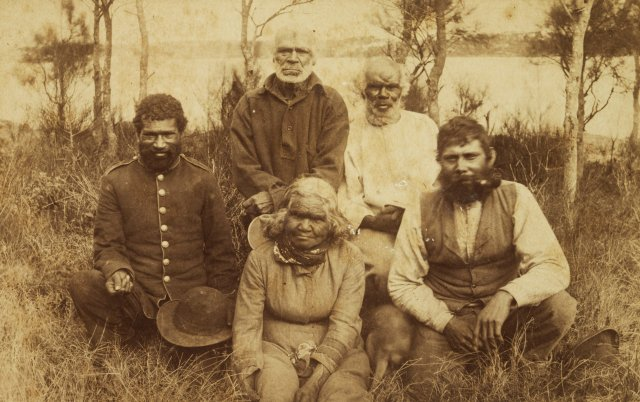 Biddy Giles and Jimmy Lowndes, Georges River Tribe - 1880 - courtesy of the National Library of Australia