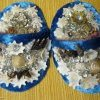 Shell art baby shoes by La Perouse artist