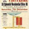 Proposed development of Platt's Estate 1929. Univ of Newcastle Cultural Collections