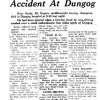 Champion boxer, Dave Sands Dead, Sydney Morning Herald 12 Aug 1952, p1