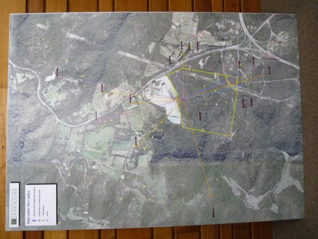 Cultural site map, Darkinjung LALC, Wyong - 2013