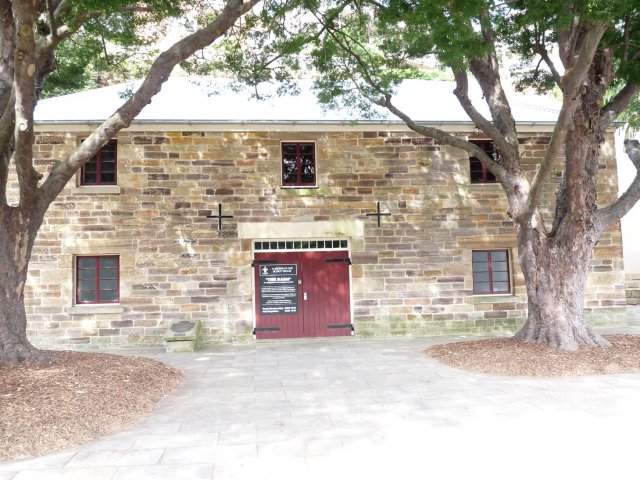 The Barn Mosman, where Tarpot lived in a cave