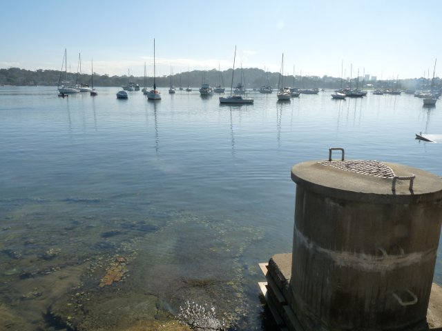 Boats on Kogarah Bay