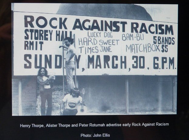 Rock against Racism poster
