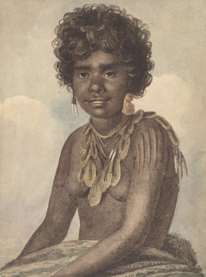 A woman of NSW by Augustus Earle 1793-1838, courtesy of National Library of Australia