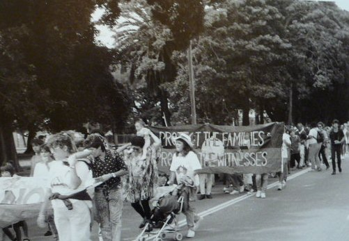 Black Deaths in Custody Protest March, 1989