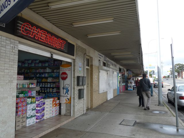 Midway Shops, Elizabeth Drive, between Green Valley & Liverpool