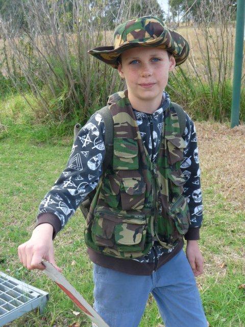 Boy at Belgenny Farm