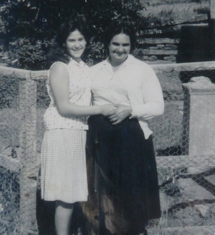 Beverly Ward and Val Aurisch descendants of Maria Lock