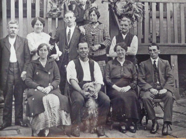 Reynolds family, Wilberforce, approximately 1912