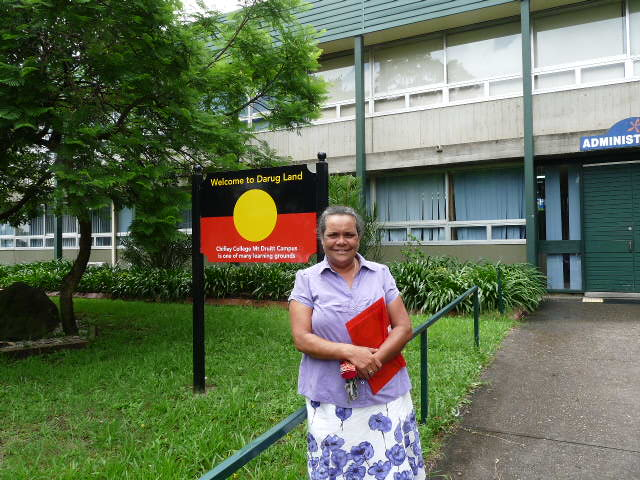 Aunty Narelle Triste at Chifley College, is proud of its Indigenous program