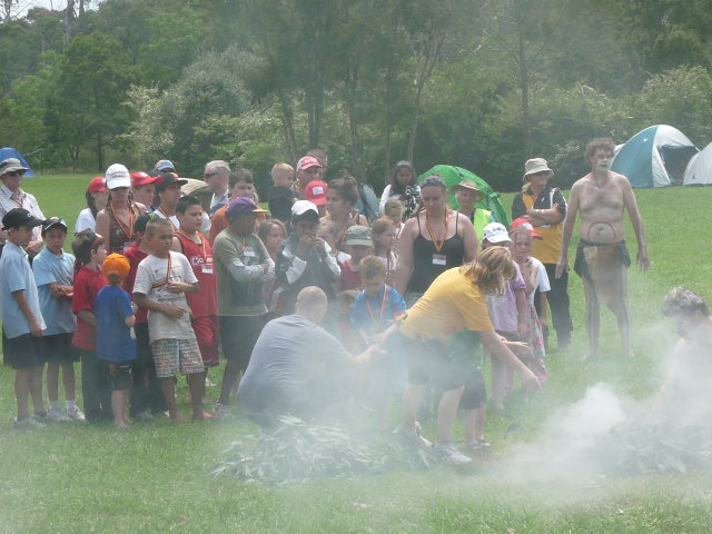 Community at Smoking Ceremony
